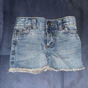 Carters infant girl shorts NWOT
